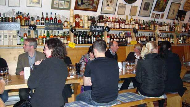 Scotch tasting at the Scotch Museum