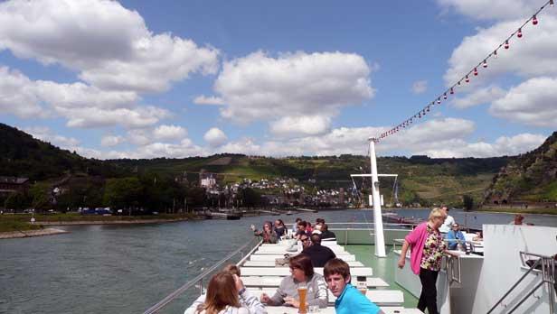 Rhine River boat tour