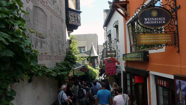 A Street in Rudesheim Germany
