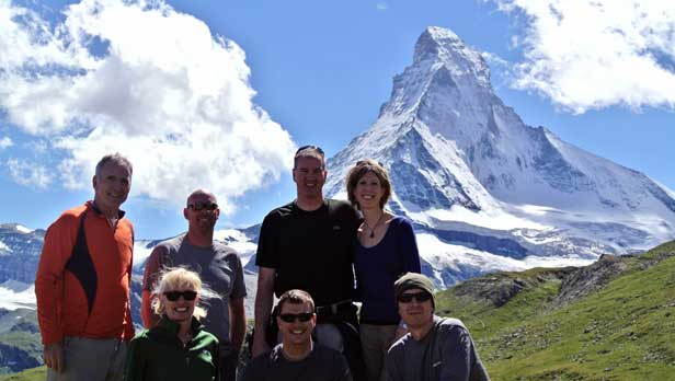 Hiking the Matterhorn - Zermatt, Switzerland