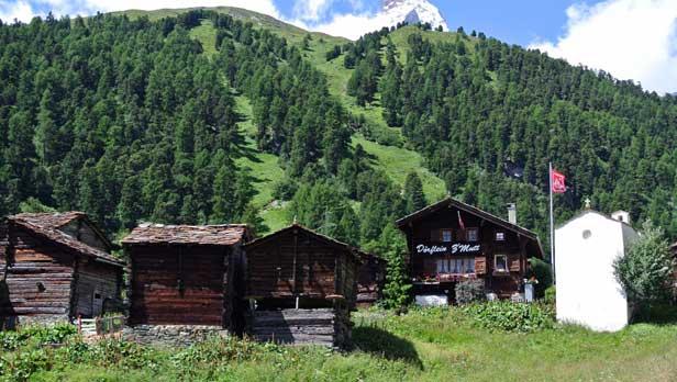 Schoenbiele Hutte in Switzerland