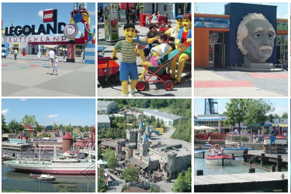 Click for photos from Legoland in Germany