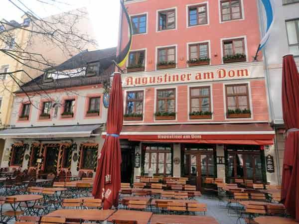Augustiner Am Dom Restaurant in Munich