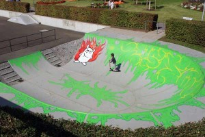 skatepark at the gartenschau