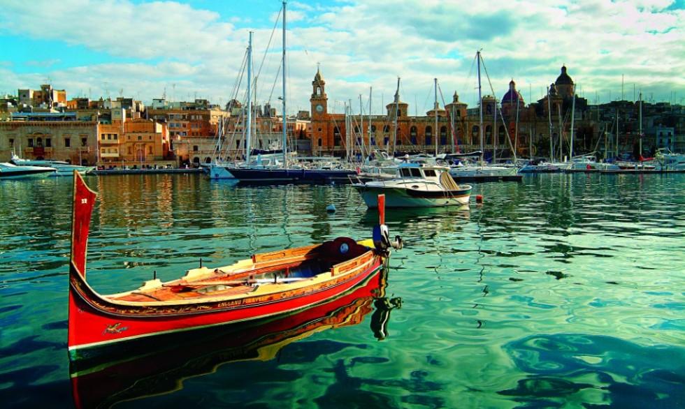 Vittoriosa Marina in Malta