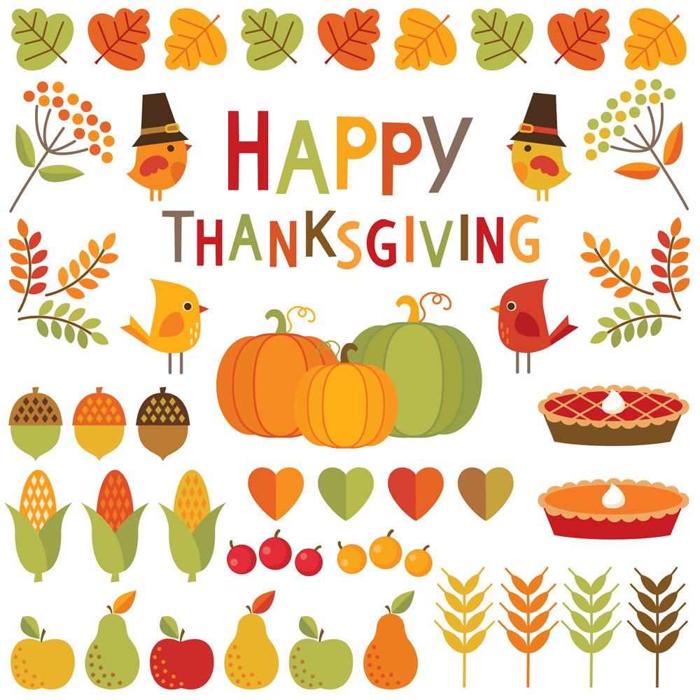 Scrapbooking at Thanksgiving