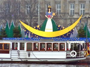 Hamburg during advent is very kid-friendly.