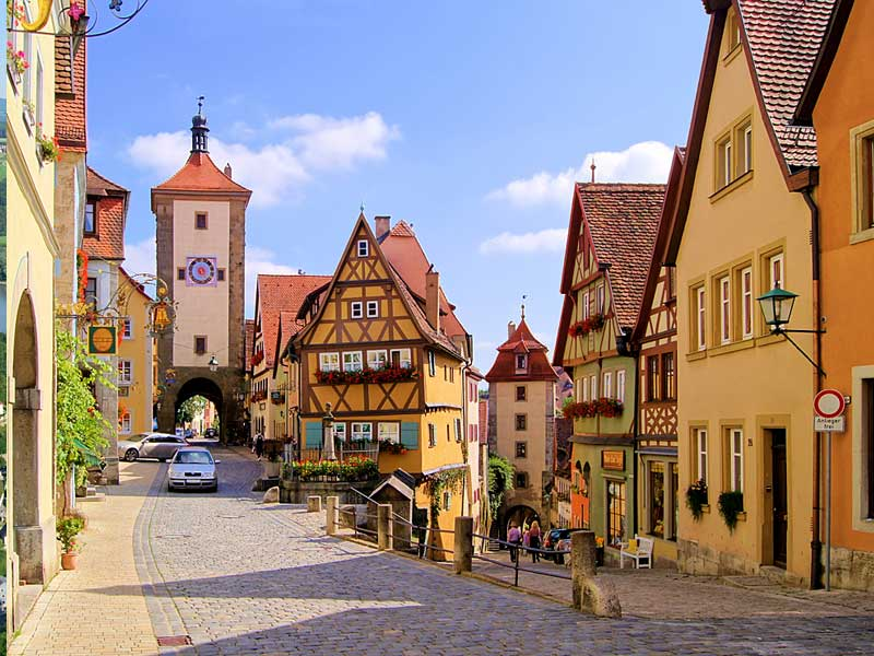 Rothenburg ob der Tauber, © Rothenburg Tourismus Service