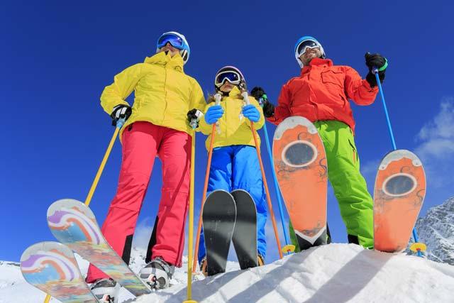 Winter activities in Germany