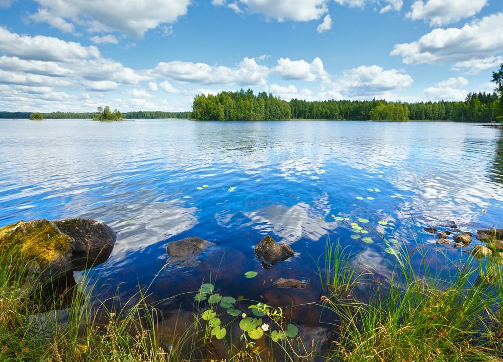 Lake Rutajarvi, Finland