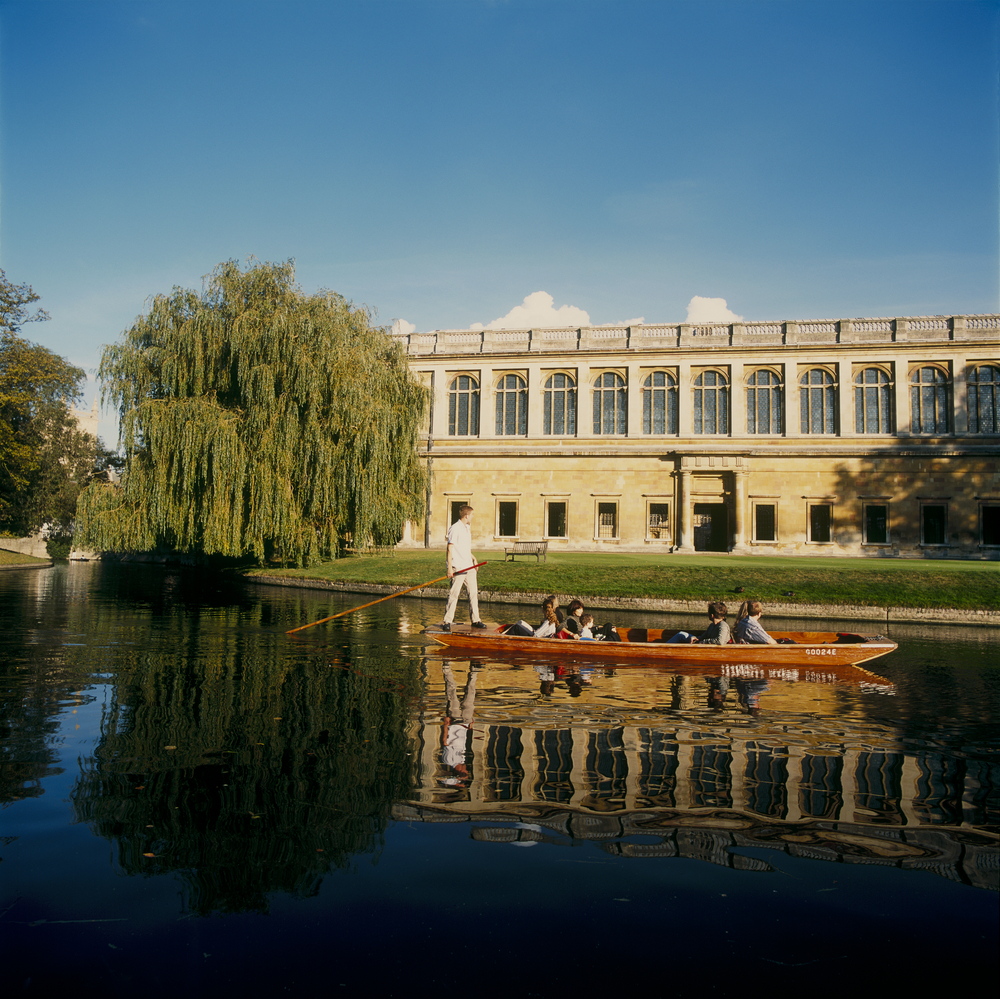 The Wren Library at Trinity College, Cambridge