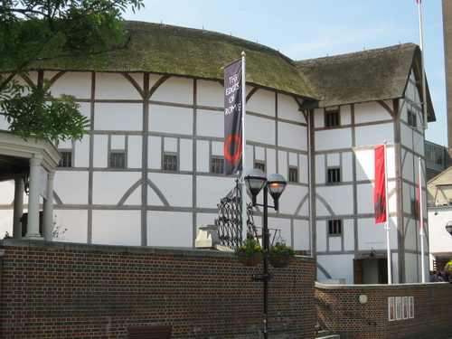 Shakespeare's Globe on London's South Bank