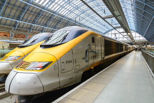 Eurostar from Brussels or Paris to London