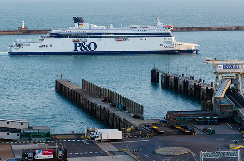 Take the ferry from Calais to Dover