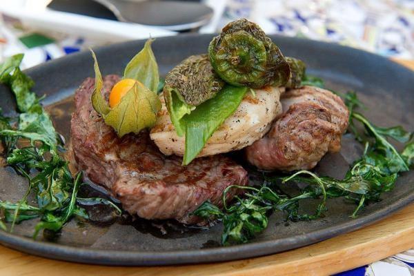 Ibiza restaurant food
