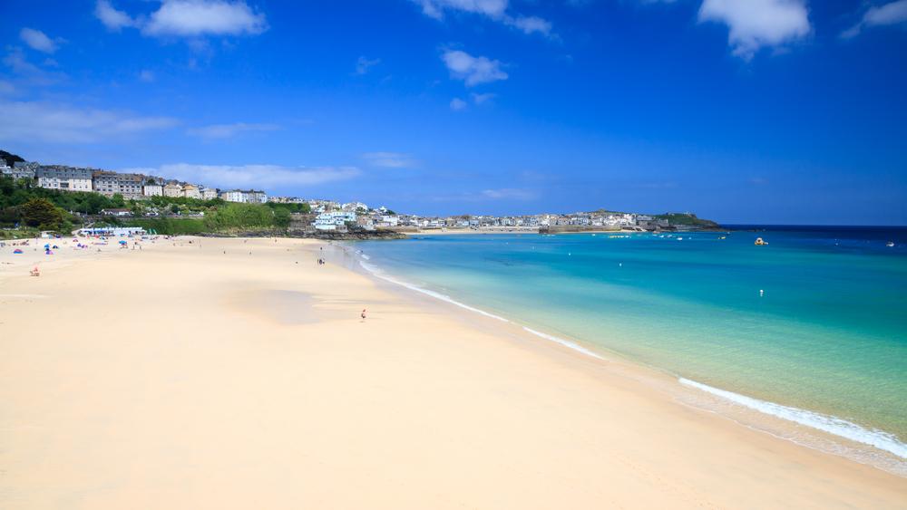 Porthminster Beach St Ives Cornwall England UK