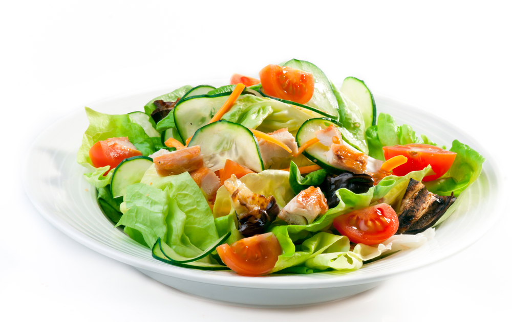 Chicken salad for lunch
