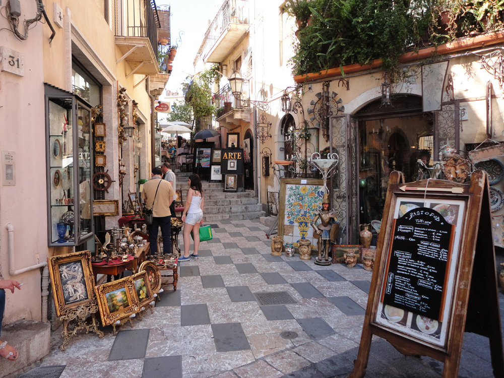 Taormina sicily a mediterranean jewel travel events for Craft restaurant century city