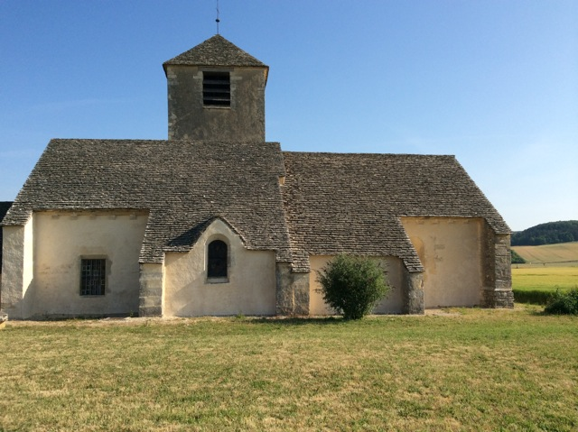 12th century church at Chassignelles
