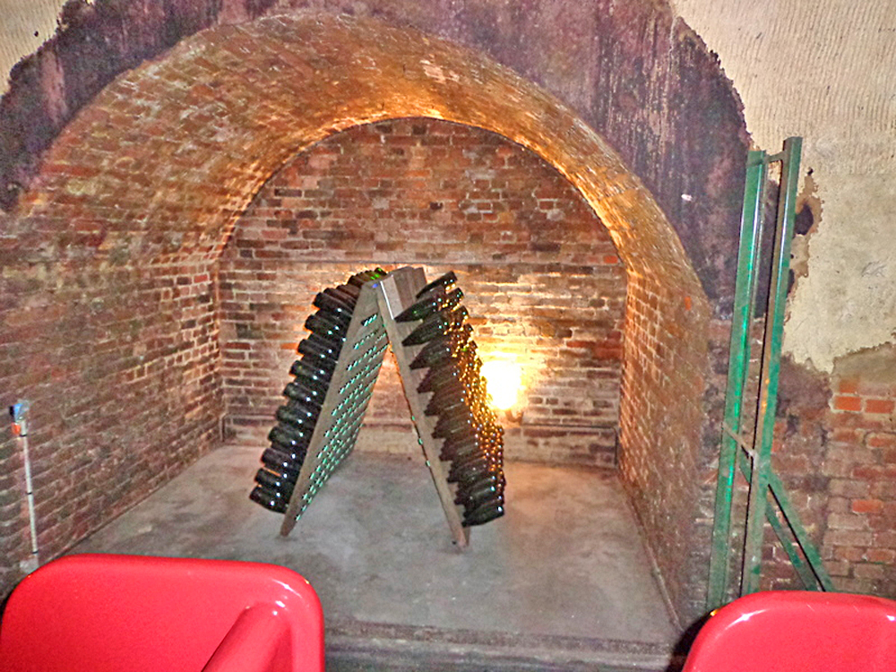 Champagne Cellars Reveal Their Secrets