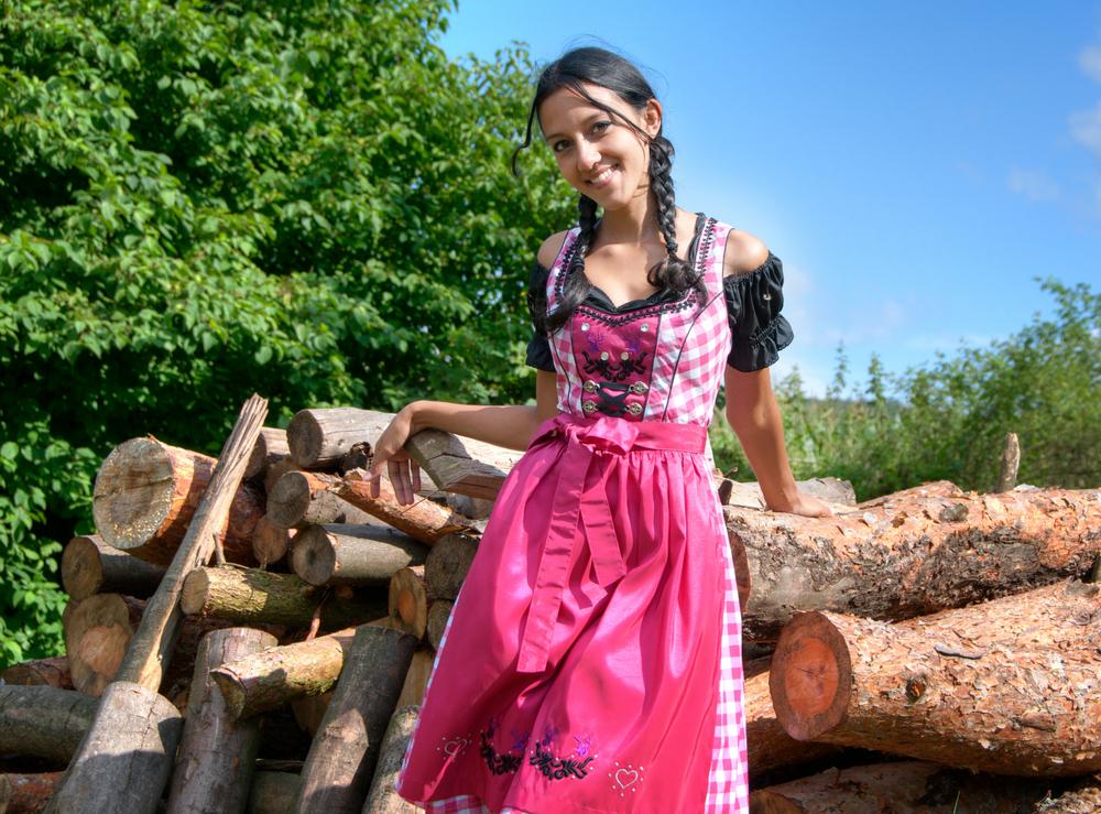 Dirndl - Traditional German Dress at Oktoberfest
