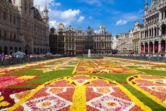 Flower Carpet in Belgium
