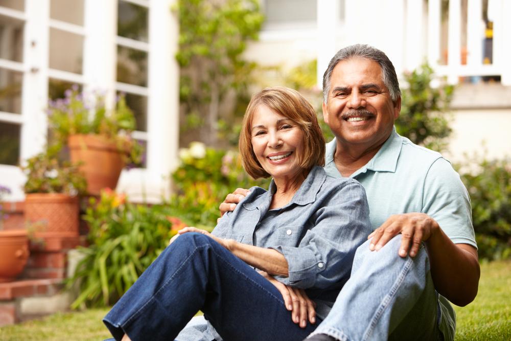 Planning Retirement couple happy
