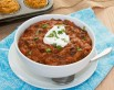 Autumn pumpkin chili