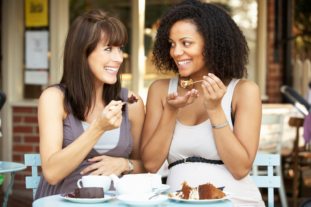 German Cakes & Sweet Treats pregnant tea