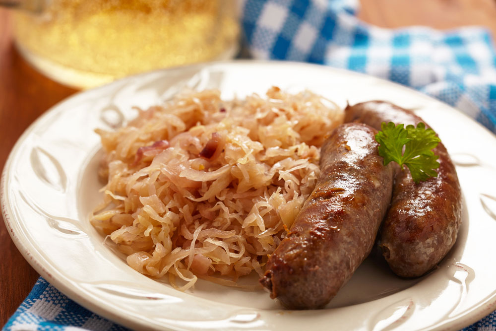 Wurst sausage sauerkraut