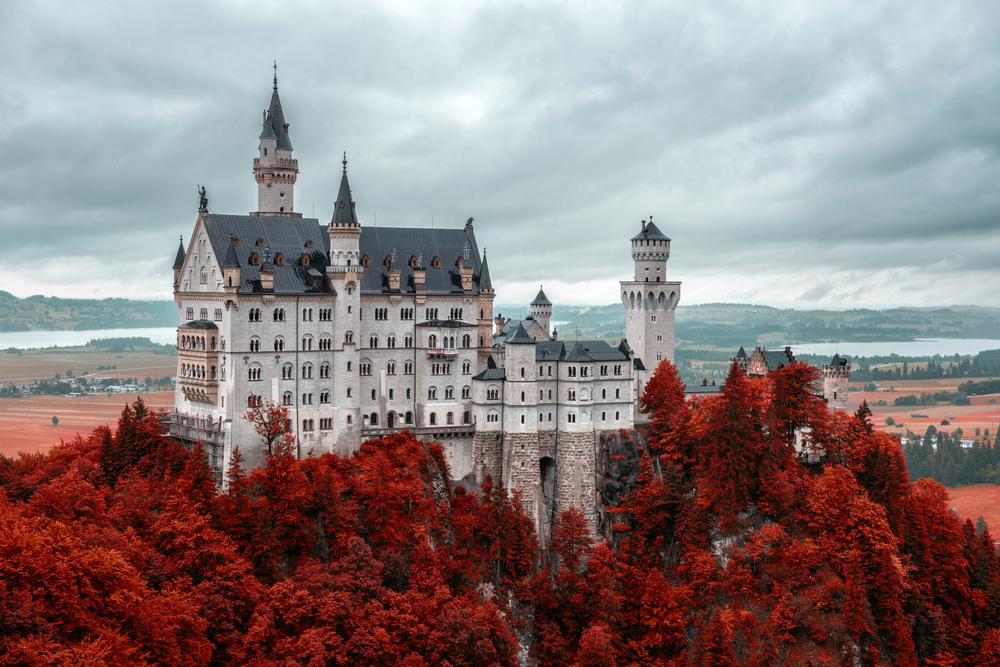 Neuschwanstein Castle Fall