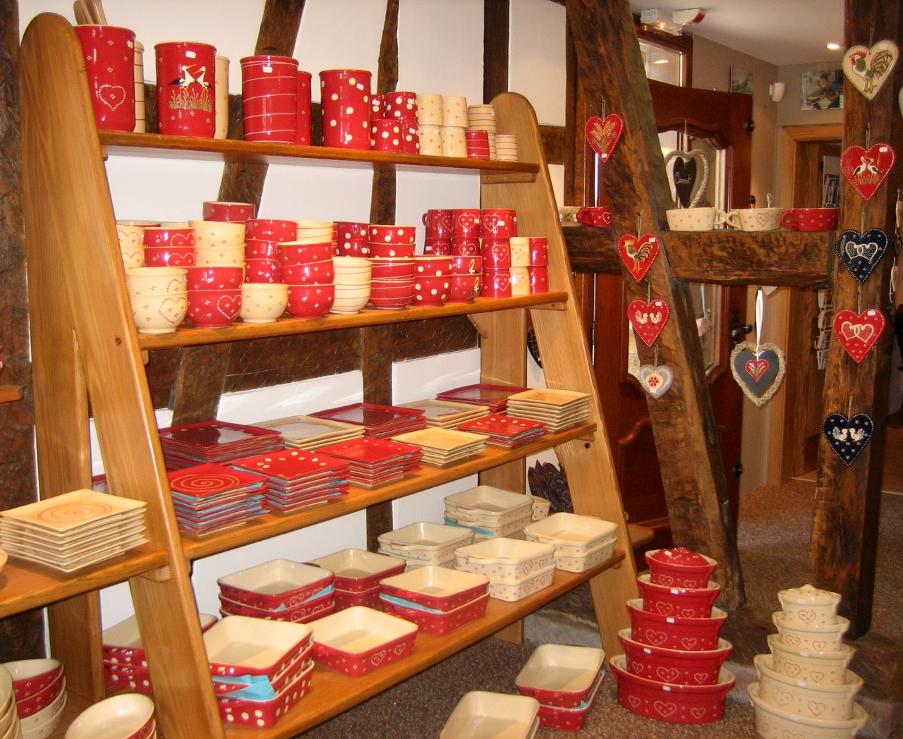 Pottery in the Alsace
