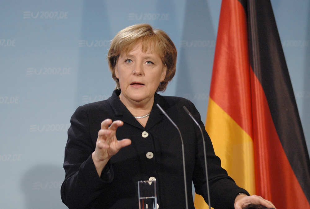 Chancellor, Angela Merkel. Editorial credit 360b / Shutterstock.com