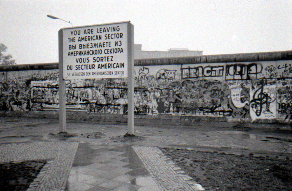 The Berlin Wall. Editorial credit 360b / Shutterstock.com