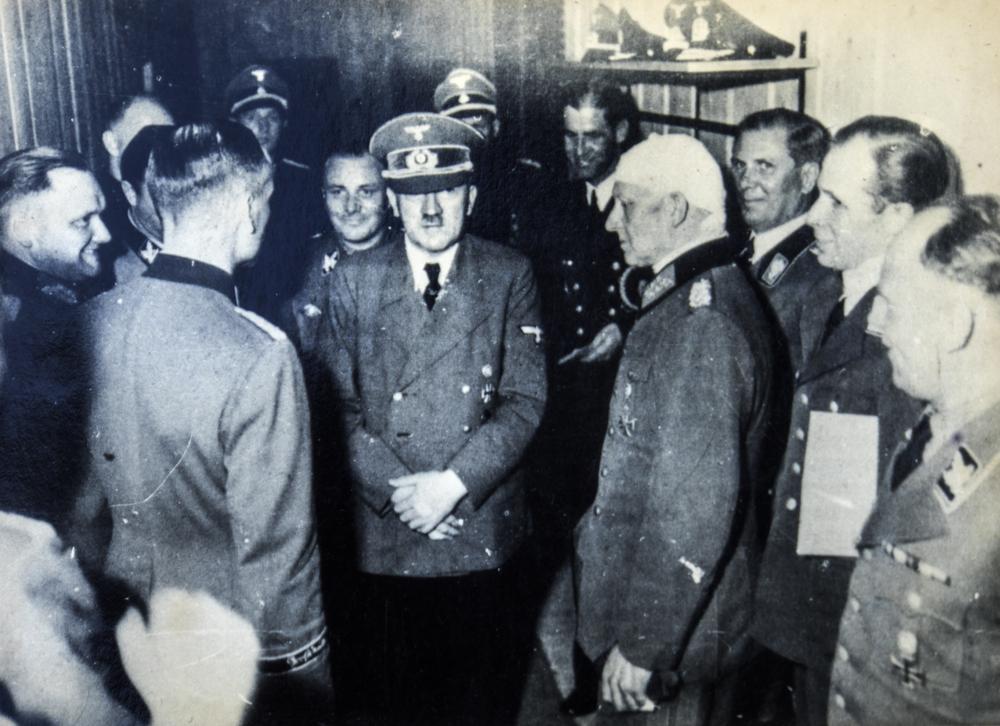 Adolf Hitler. Editorial credit IgorGolovniov / Shutterstock.com