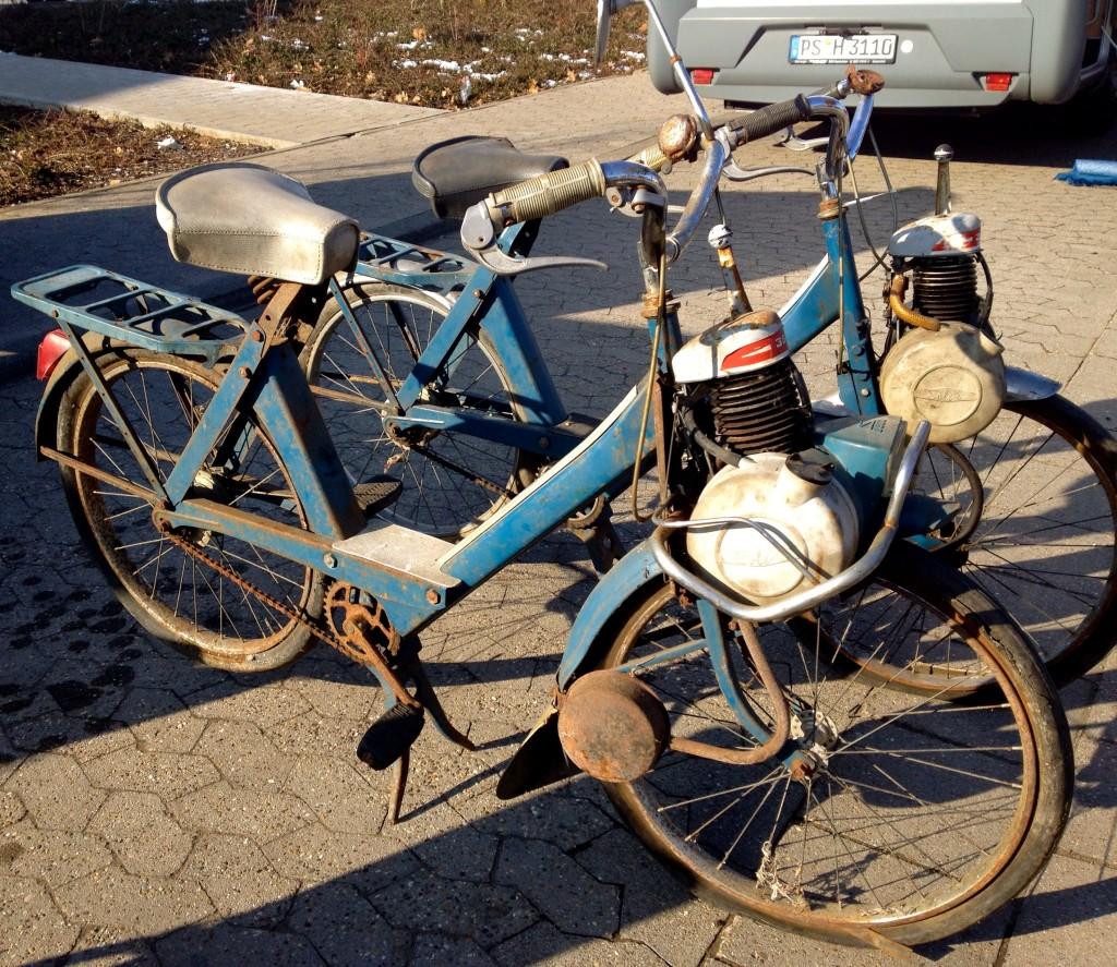 Homburg old mopeds