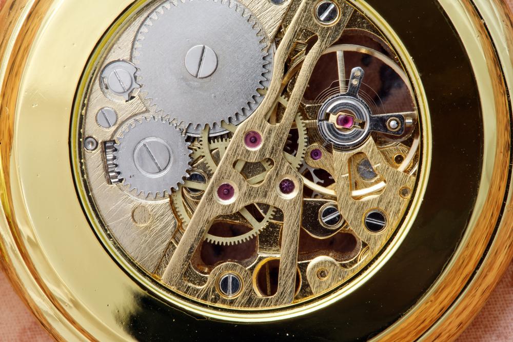 Pforzheim inside clock