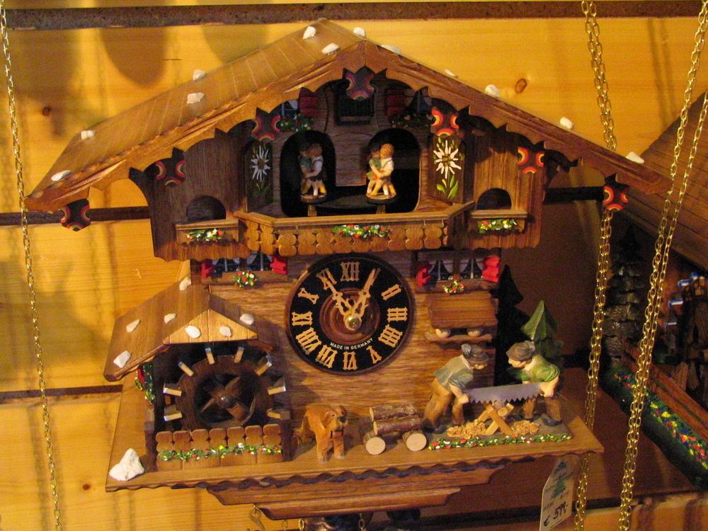 Triberg clock