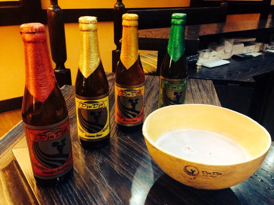 Ethopian bowl and beer bottles 7