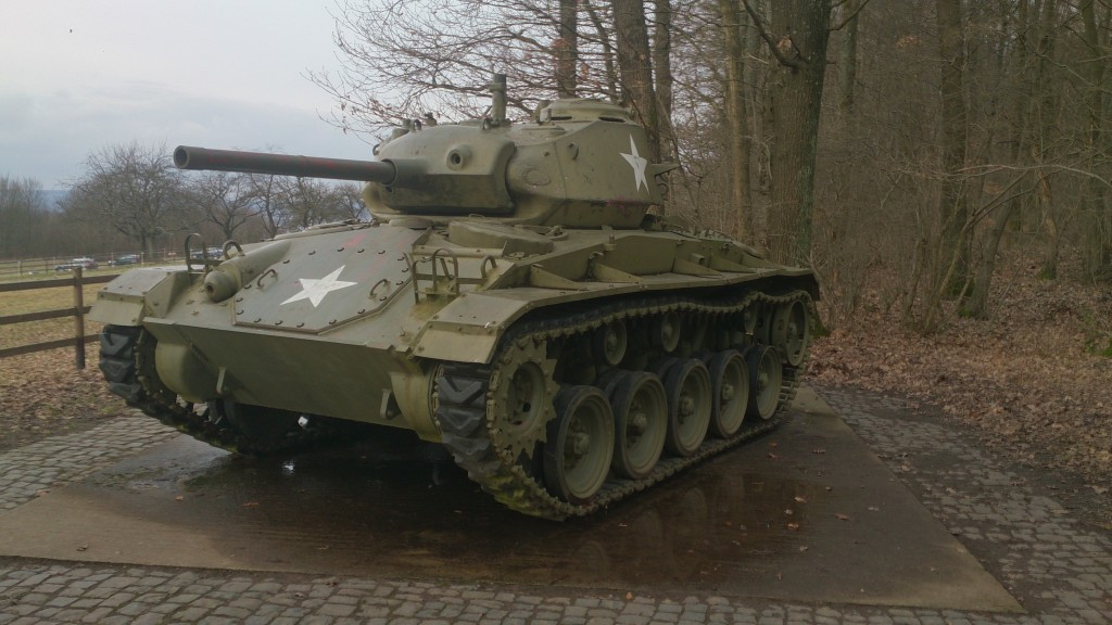 Spicheren Tank without dog