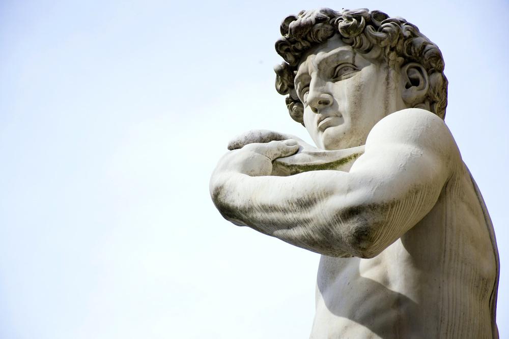 Tuscany statue