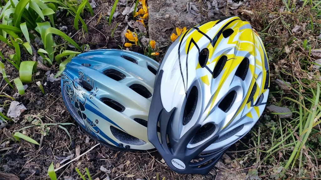cycling helmets photo