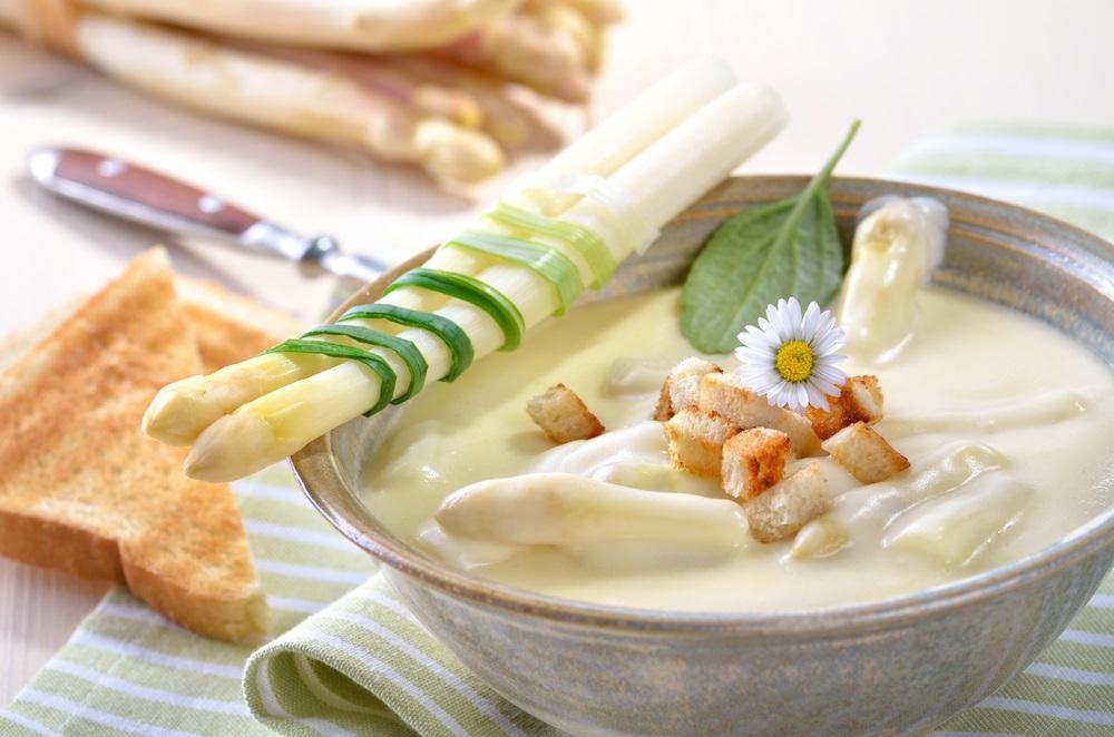 Spargel soup