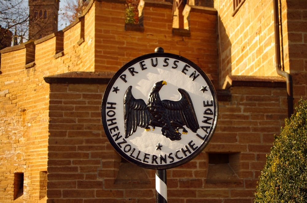 Hohenzollern Castle crest