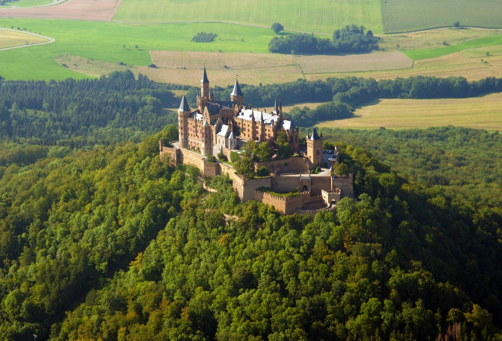 Hohenzollern Castle up high