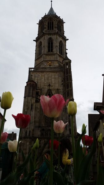 Rottweil city center church
