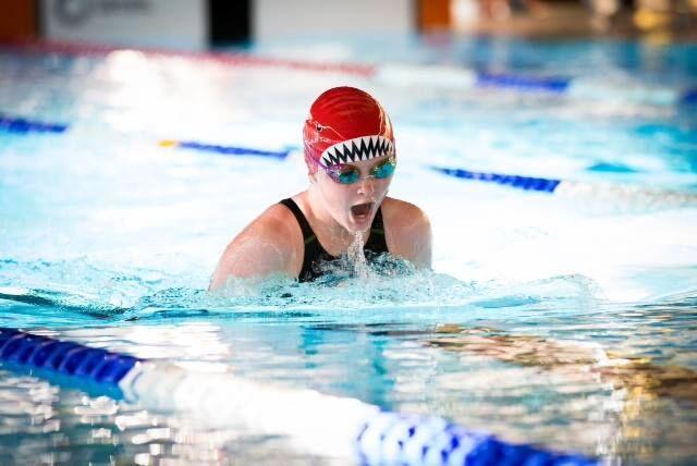 Swimming Caroline