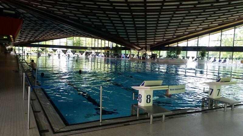 Swimming indoor pool