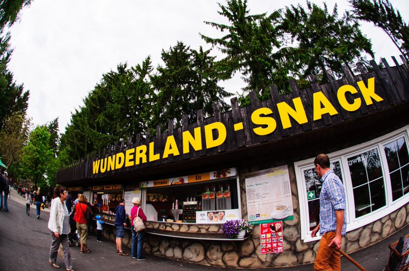 Taunus Wunderland snack vendor