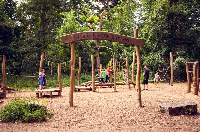 Kletterwald Neroberg Ropes Course kids Gemma